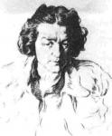 Božidar Jakac - portret partizanke Eme
