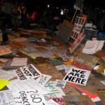 Vztrajnosti ne brigata ne sneg ne Bloomberg ali Kako se Occupy Wall Street bojuje z neprilikami