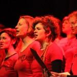 Voščilo Ženskemu pevskemu zboru Kombinat ob 8. marcu –  dnevu žena, mednarodnemu dnevu žensk