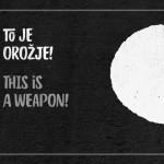 """Nastop ob otvoritvi razstave """"To je orožje!"""""""