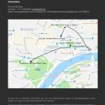 """ŽPZ Kombinat v Parizu na projektu Freiraum / La Chorale féminine Kombinat de Slovénie se produira dans les rues de Paris dans le cadre du projet """"Freiraum"""""""