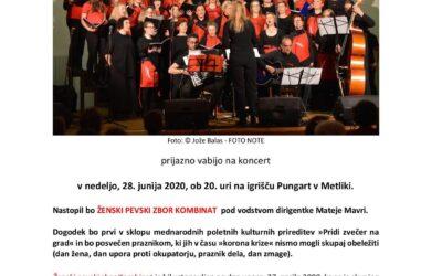 Nastop v Metliki v sklopu prireditev »Pridi zvečer na grad«