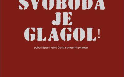 Svoboda je glagol in svoboda ni naključje!