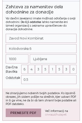 Nulapet 2020 tudi za ŽPZ Kombinat